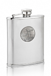 Monarch Of The Glen Hip Flask